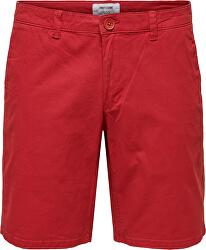 Pánske kraťasy onsCAM SHORTS PK4978 Pompei an Red