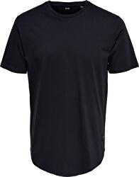 Pánske tričko ONSMATT LIFE long SS TEE Noosa Dark Navy