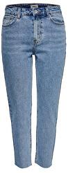 Dámske straight fit džínsy ONLEMILY