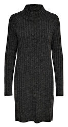 Dámske šaty ONLNEW MIRAMAR L/S DRESS KNT Dark Grey Melange