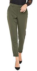 Pantaloni pentru femei ONLGINA-KAYA MW ANK PANTS PNT Beluga