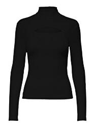 Dámské triko ONLNELLA Regular Fit 15249064 Black