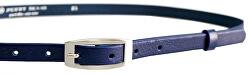 Cintura da donna in pelle Blu scuro