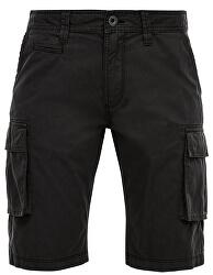 Pantaloni scurți pentru bărbați, 47.004.74.2775.9897 Grey / Black