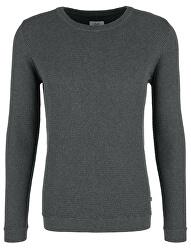 Pánsky sveter Asphalt Melange