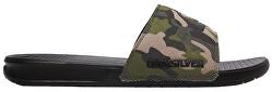 Papuci pentru bărbați Bright Coast Slide Green / Brown / Black AQYL100956 -XGCK