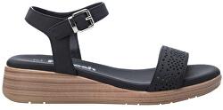Dámske sandále Black Nobuko Pu Ladies Sandals