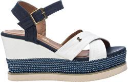 Dámske sandále White Textile Ladies Sandals