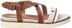 Dámske sandále White Pu Ladies Sandals
