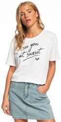 Dámske tričko Follow Me To The Beach A Snow White