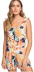 Női overálRainbow Palm Peach Blush Bright Skies