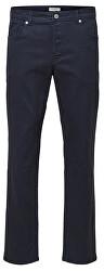 Pánské kalhoty SLHSLIM-LEON PANTS W Dark Sapphire - Pants B 16