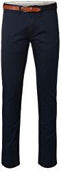 Pánské kalhoty Slim-Yard Dark Sapphire Pants W Noos Dark Sapphire