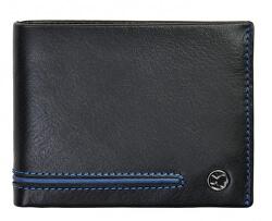 Pánska kožená peňaženka 753 115 026 black / blue