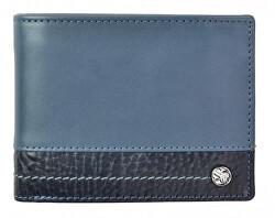 Pánska kožená peňaženka 951 320 005 WL blue / blue