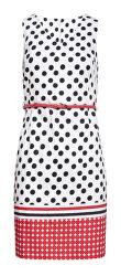 Dámské šaty 20026 Black-White/Red