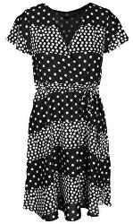 Dámské šaty 20037 Black-White