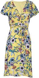 Dámské šaty 20067 Yellow/Multi