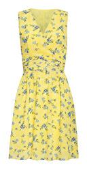 Dámske šaty 20069 Yellow / L. Blue