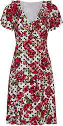 Dámské šaty 20118 Black-White/Red