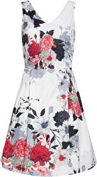 Dámské šaty 20232 Black-White/Red