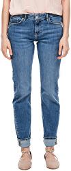 Női straight fit farmer 14.003.71.6069.54Z5 Blue denim stretch