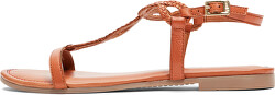 Dámske sandále Cognac