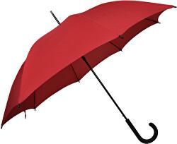 Dámský holový vystřelovací deštník City Uni Automatic - červený