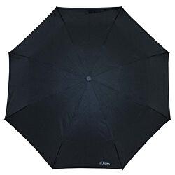 Dámský skládací mechanický deštník Fruit Cocktail - černý