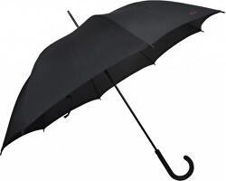 Palicový vystreľovací dáždnik City Automatic - čierny