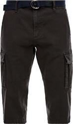 Pantaloni scurți pentru bărbați, cu centură