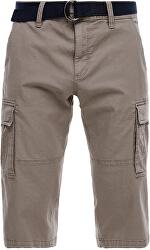 Pantaloni scurți pentru bărbați,cu centură