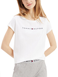 Dámské triko Tommy Original Rn Tee Ss Logo White