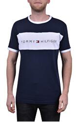 T-shirt da uomo Tommy Original Cn Ss Tee Logo Flag UM0UM01170 -416 Navy Blazer