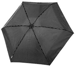 Dámsky skladací dáždnik Tambrella Mini black