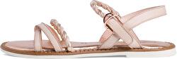Sandale din piele pentru femei