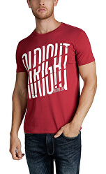 T-shirt da uomo Jersey Regular Fit Lacquer