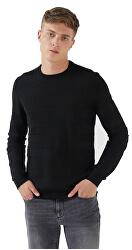 Maglione da uomo Round Neck Black