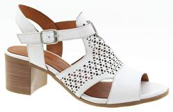 Dámské kožené sandále White