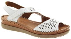 Dámské kožené sandále Beyaz
