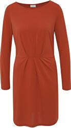 Dámske šaty VICLASSY L/S DETAIL DRESS - FAV Ketchup