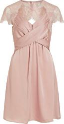 Dámské šaty VISHEA CAPSLEEVE DRESS/DC Pale Mauve