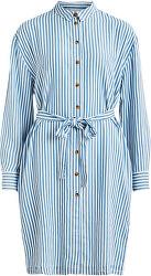 Dámske šaty VISUKA L / S SHIRT DRESS / SU White Alyssum ASHLEY BLUE