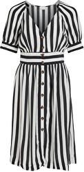 Dámske šaty VISUSASSY S / S DRESS / SU White Alyssum BLACK