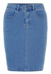 Fustă pentru femei Hot Nine Hw Dnm Pencil Skirt Mix Noos Light Blue Denim