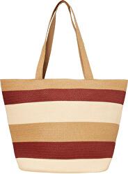 Dámská taška VMFREYA STRAW BAG Creme Brulee