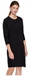 Rochie de damă VMHAPPY BASIC LS ZIPPER DRESS NOOS Black