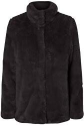 Dámsky kabát VMMINK faux FUR JACKET Black