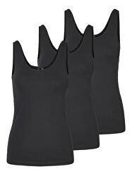 3 PACK - Maiou pentru femei VMMAXI MY SOFT 10247477 BLACK & BLACK