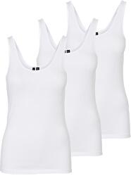 3 PACK - Maiou pentru femeiVMMAXI MY SOFT 10247477 BRIGHT WHITE & BRIGHT WHITE